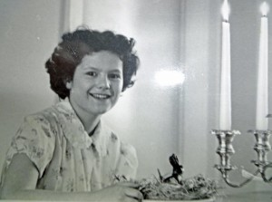 Mary Bruce as child